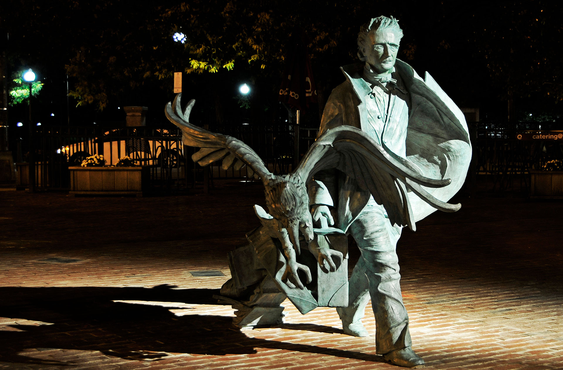 Poe Returning to Boston Statue