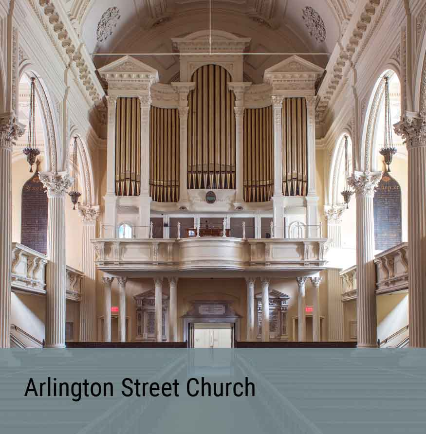 Preservation Project - Arlington Street Church
