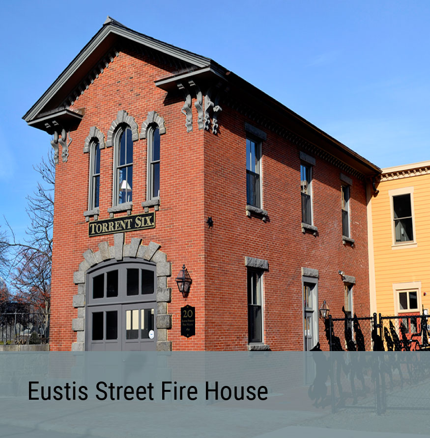 Preservation Project - Eustis Street Fire House