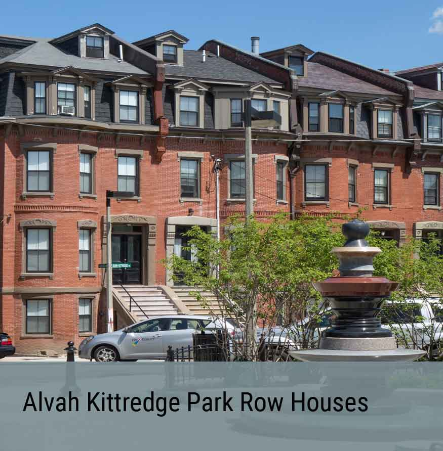 Preservation Project - Alvah Kittredge Park Row Houses