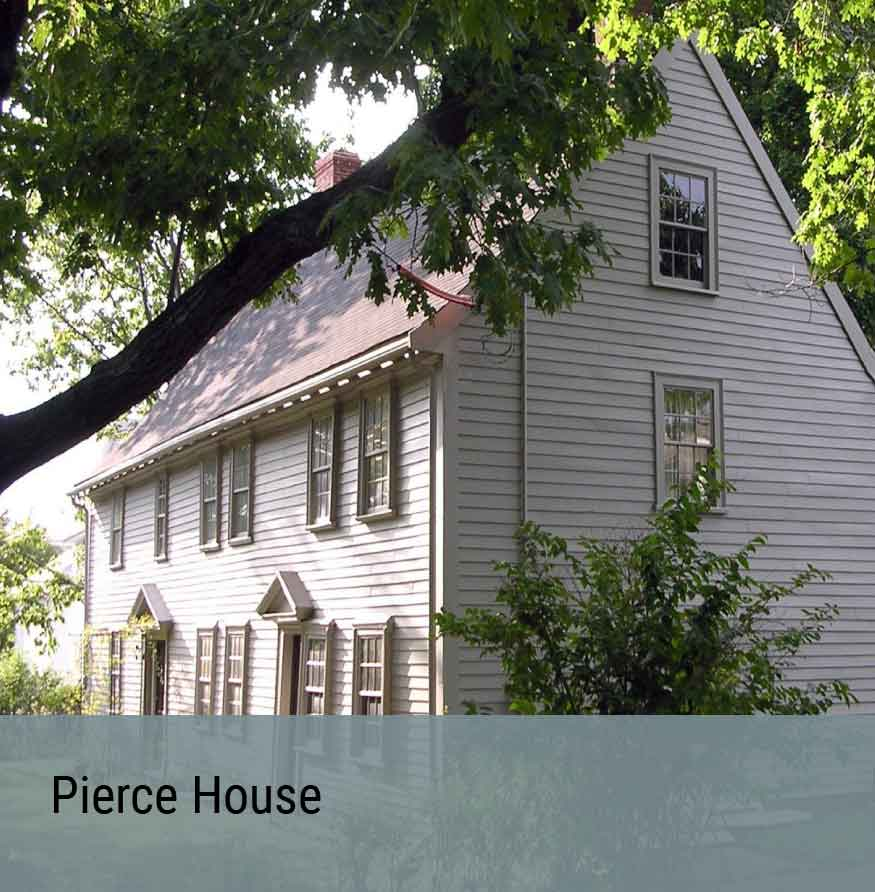 Preservation Project - Pierce House