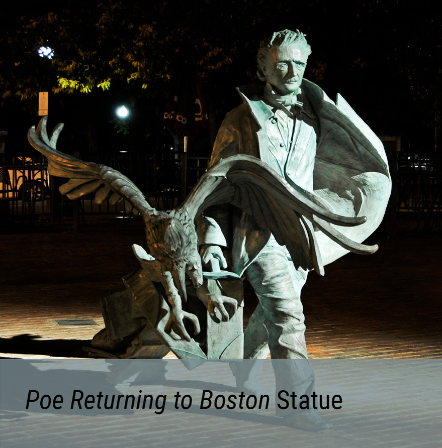 Public Art Project - Poe Returning to Boston Statue