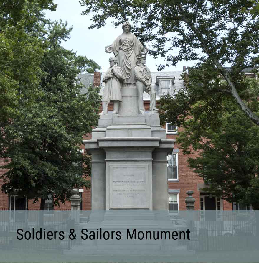 Public Art Project - Soldiers and Sailors Monument