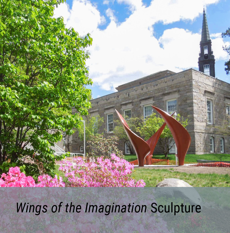 Public Art Project - Wings of the Imagination Sculpture